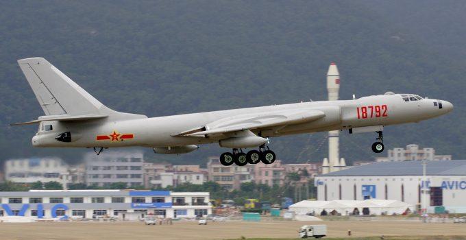 china bomber