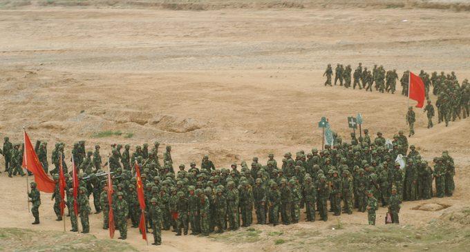 China Puts Military on High Alert