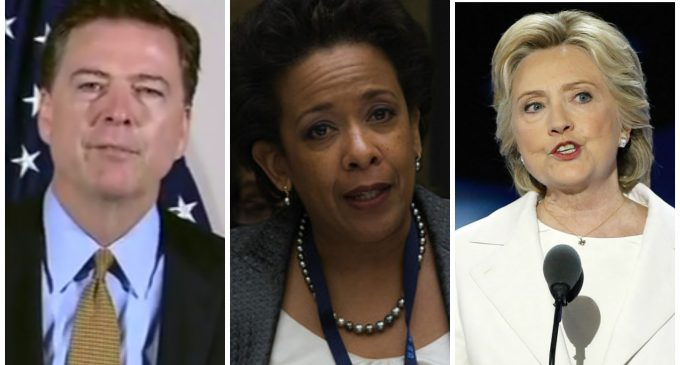 New Report on Russian Hacking of DNC Shows Expanded Lynch Role in Covering Up for Hillary Clinton