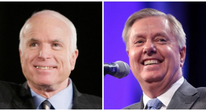 Republican Hawks in the Senate Praise Trump's Syrian Attack
