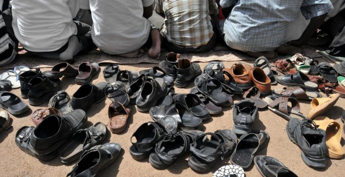 muslim prayer shoes