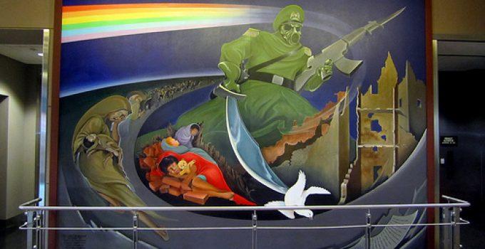 nazi mural denver airport