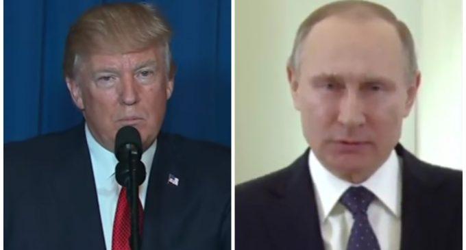 "Strange Warning of ""Restraint"" to the U.S. by Putin"