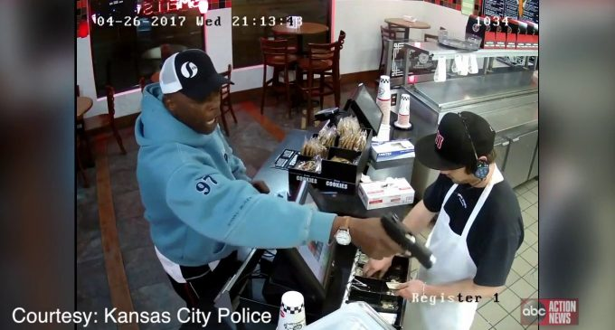 Employee Explains Why He Was So Calm During Robbery