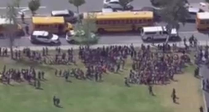 Shooting at San Bernardino Elementary School: 'Multiple People Down'