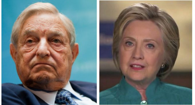 Email Shows George Soros, Hillary Clinton Behind Firing of Bill O'Reilly