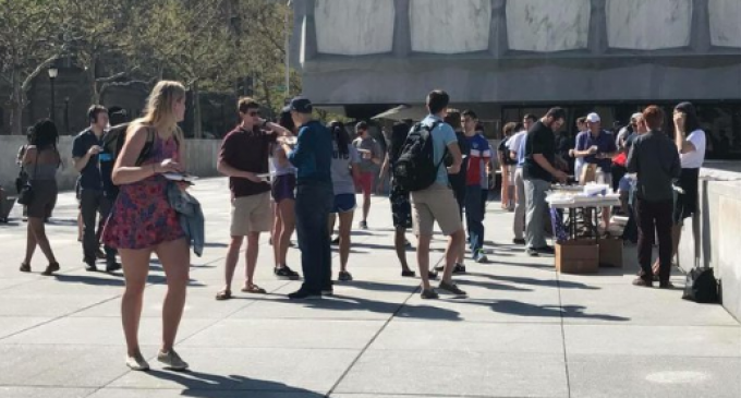Yale Republicans Fire Up BBQ Grill Next to Union Hunger Strike