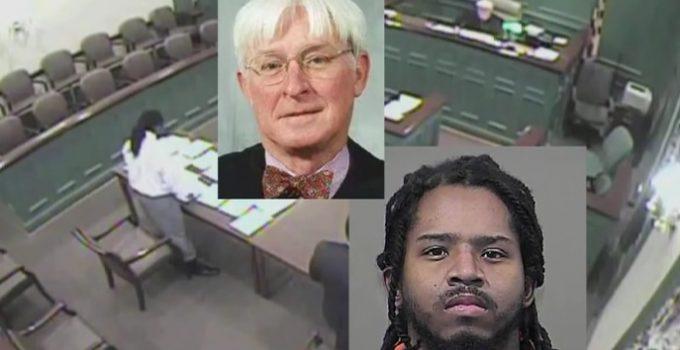 Robert C Nalley orders defendant shocked