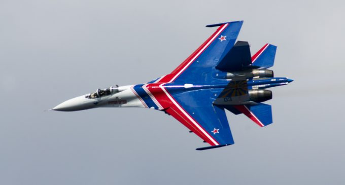 Armed Russian Fighter Jet Flies 'Dangrously Close' to Navy Plane Over the Black Sea