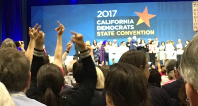 """CA Dem Party Chair: """"All Together Now: F*ck Donald Trump!"""""""