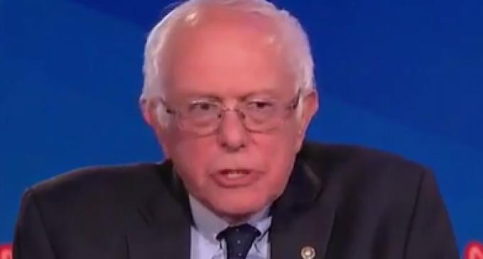 Sanders Accuses President Trump of Committing a Crime, Based On Pure Hearsay