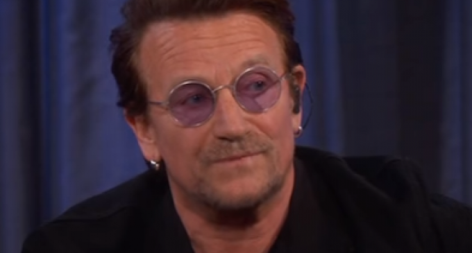 Bono: No Evidence in Trump's Life He Ever Cared About People 'Hardest Hit'