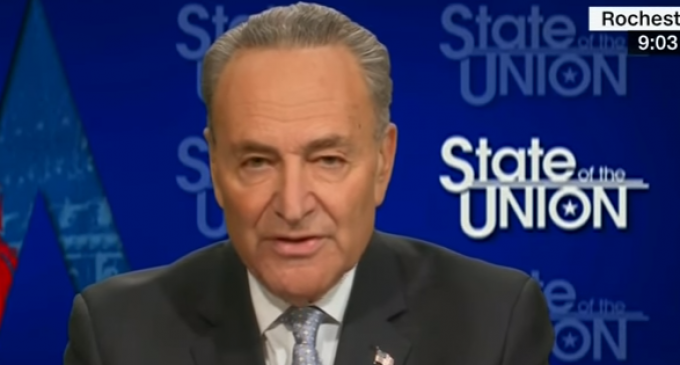 Schumer: I Support Blocking Confirmation of Next FBI Director Until Prosecutor Appointed to Trump/Russian Investigation