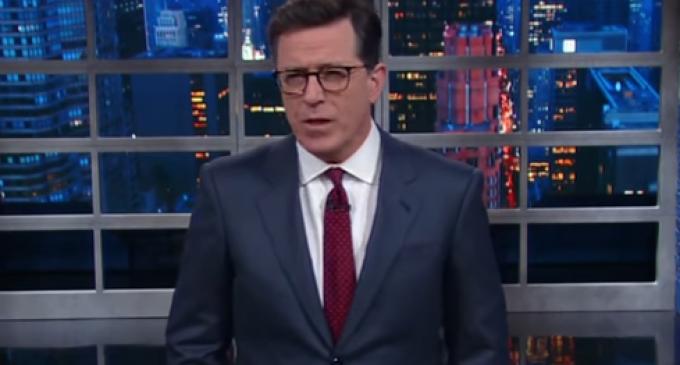 VIDEO: Colbert Goes on Profanity-Laden Tirade Against Donald Trump