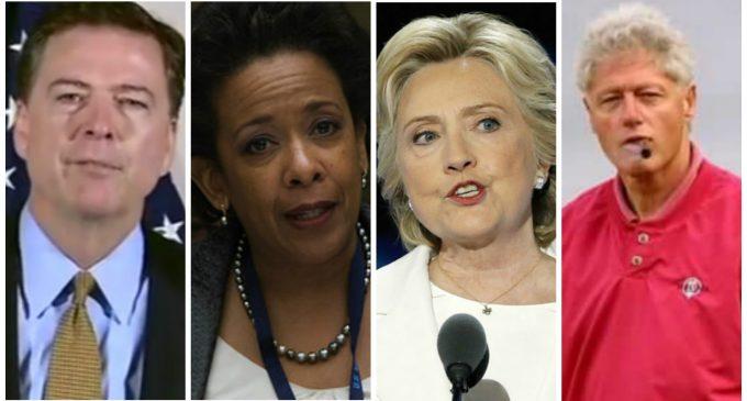 IG Report Revelation: FBI Set Up The Clinton-Lynch Tarmac Meeting