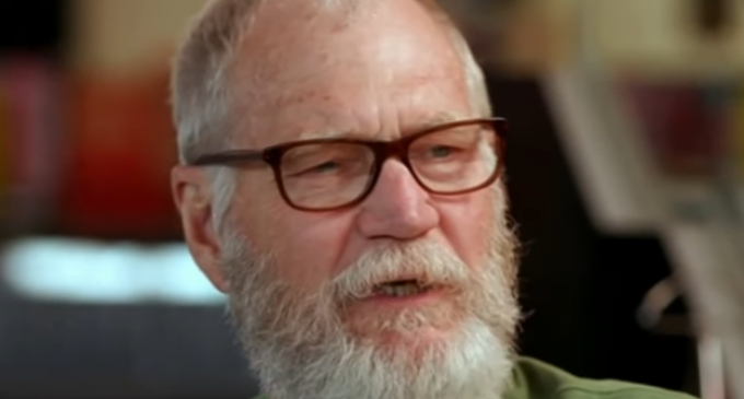 """Letterman Rants Against 'Soulless Goon' Trump, """"Is There a Guy in There?"""""""