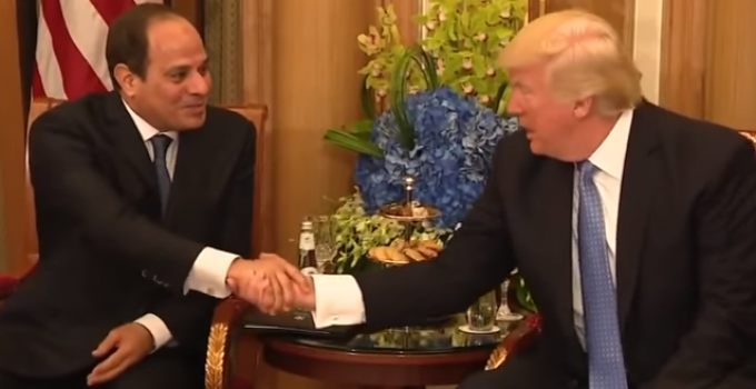 egypt_president_president_trump