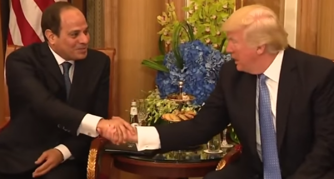 Egyptian President to Trump: 'You Have a Unique Personality That is Capable of Doing the Impossible'