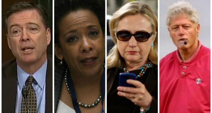 Hacked Email by Russia Reveals Possible Collusion Between Lynch and Comey to Protect Hillary from Prosecution