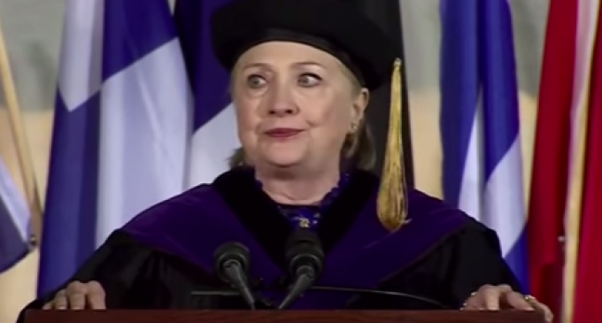 Watch: Hillary Can't Stop Coughing Long Enough to Swallow Back Her Disappointment