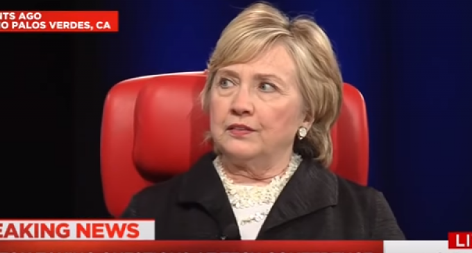 Tone Deaf Hillary Compares Her Defeat To Pearl Harbor