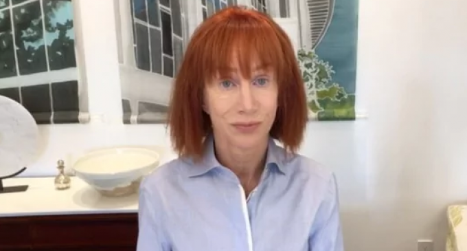 Kathy Griffin Attempts to Save Career after Holding Up Severed Trump Head in Recently Released Photos
