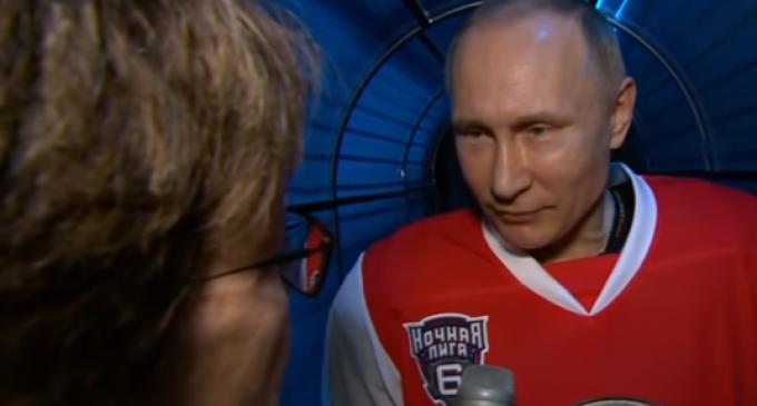 Putin Pokes Fun At Liberals and CBS Reporter