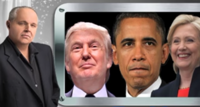 Limbaugh: Obama Actually Did What's Alleged About Trump