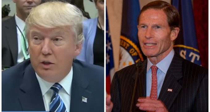 Trump Calls for Investigation Into Sen. Blumenthal for Lying About Vietnam Service