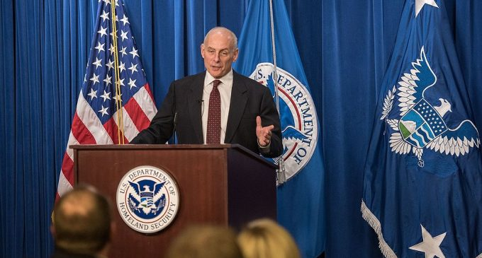 DHS Secretary Kelly: One Illegal Immigration Program Down, One To Go