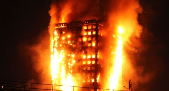Exploding 'Global Warming' Fridge Allegedly Destroys 27 Story Residence in London in 15 Mins