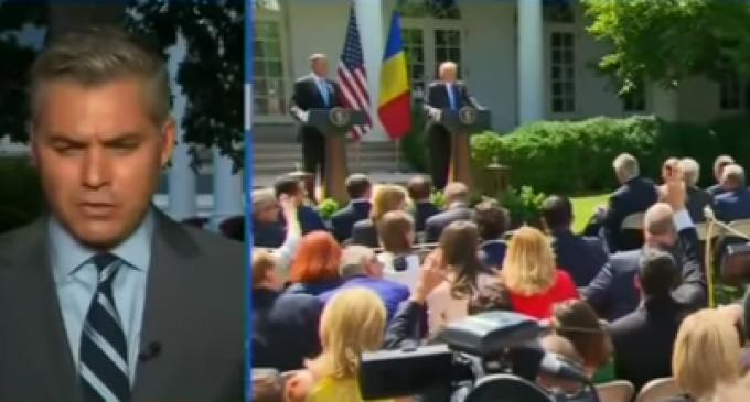 CNN's Jim Acosta Cries: 'Trump Gave Me a Time Out in Siberia'