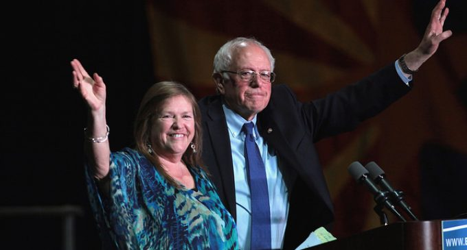 Sanders' Wife Tried to Evict Disabled People from Group Home