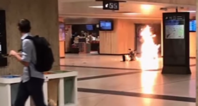 """Suspected Jihadist Attack in Brussels Yelling """"Allah Akbar"""" Shot Down by Police"""