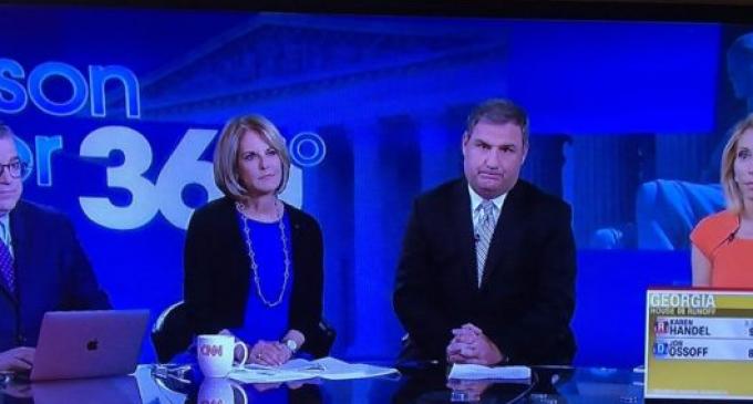Embarrassed CNN Cuts Away From Karen Handel's Victory Speech