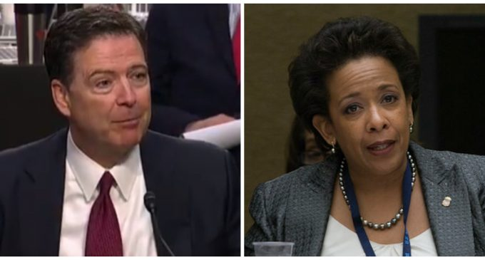 """Comey: Lynch Wanted Hillary Investigation Called a """"Matter"""""""