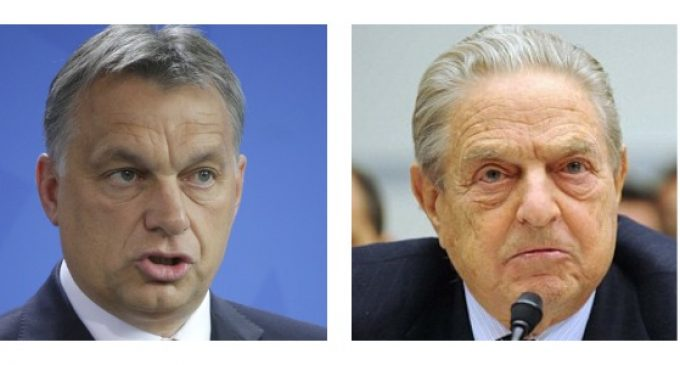 """Hungarian Prime Minister: George Soros Has Issued a """"Declaration of War"""""""