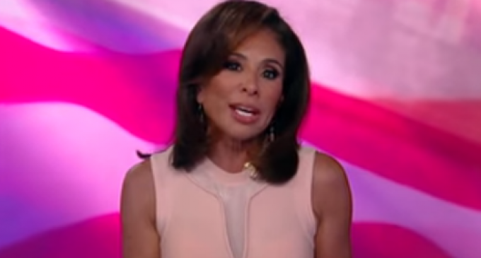 Judge Jeanine: GOP Elite Are Trying to Forcibly Replace Trump With Establishment Politician