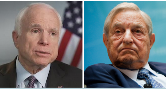 McCain Takes Cue From Clintons, Creates His Own Soros-Donor Foundation