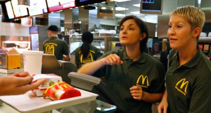 McDonald's to Replace Thousands of Restaurant Cashiers With Automated Ones