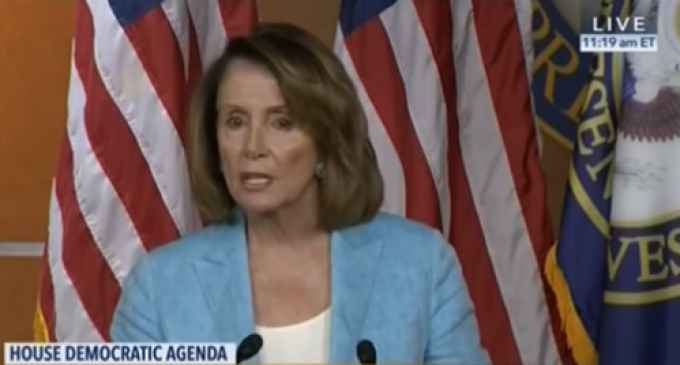 Pelosi Blames Reps Criticizing Hillary during 2016 Campaign for Scalise Shooting