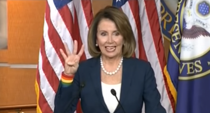 Pelosi Just Can't Seem to Get George W. Bush Out of Her Thoughts