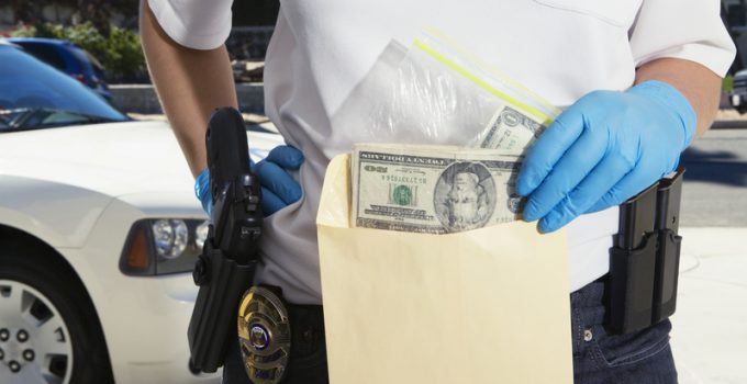 police cash