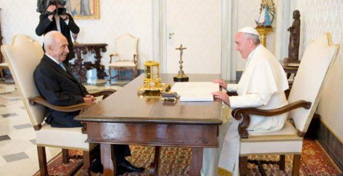 pope ex  israili president