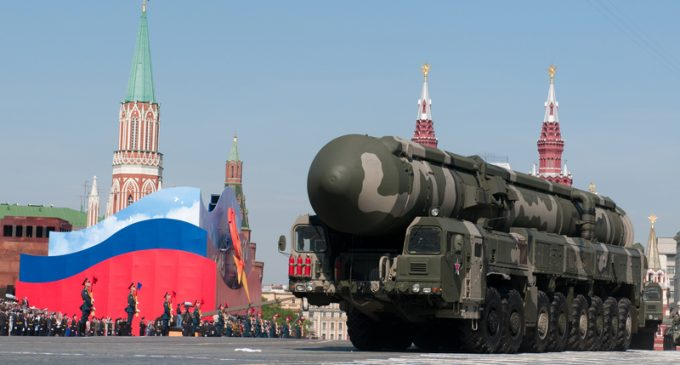 Russia Threatens First Use of Nukes in Eastern Europe if Threatened, Even in a Conventional War Setting