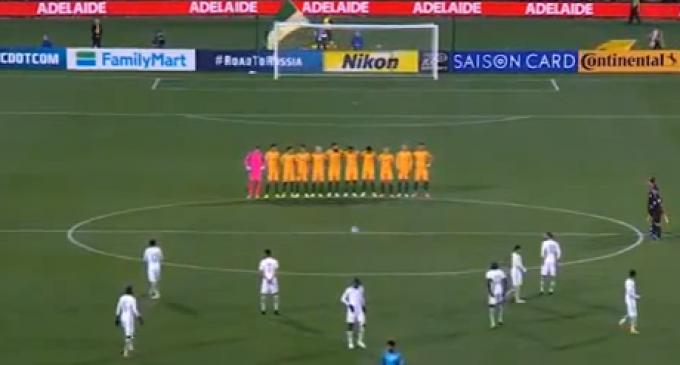 Saudi Soccer Team Refuses to Stand for London Bridge Terror Victims