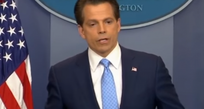 Scaramucci Kicks Suspected RNC Leaker Out of White House