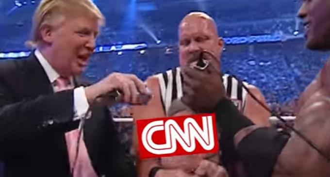 CNN Roasted in Tweets For Threatening To Dox Wrestling Meme Creator
