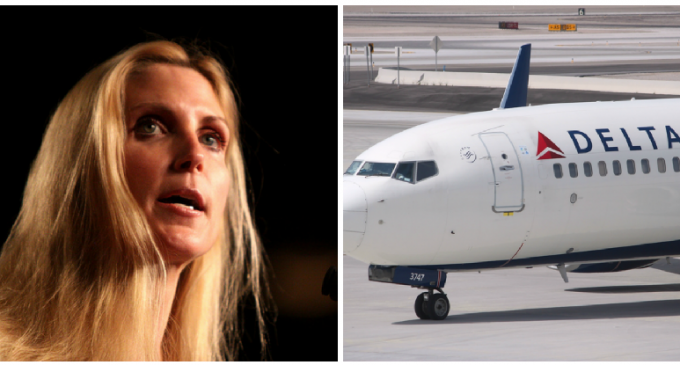Report: Ann Coulter was Targeted by Delta Officials