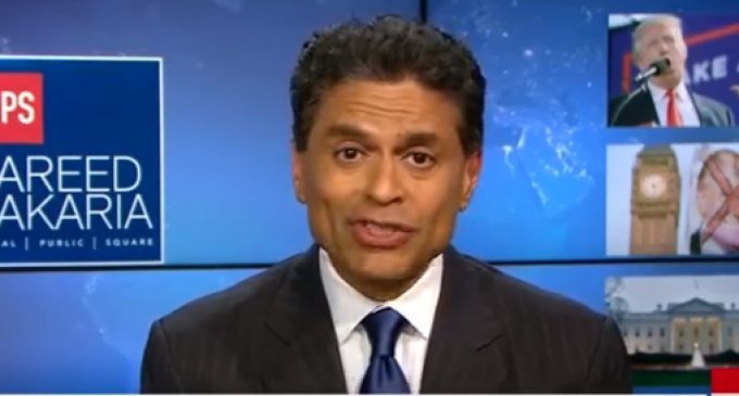 CNN's Zakaria: Trump is Making America 'Irrelevant'